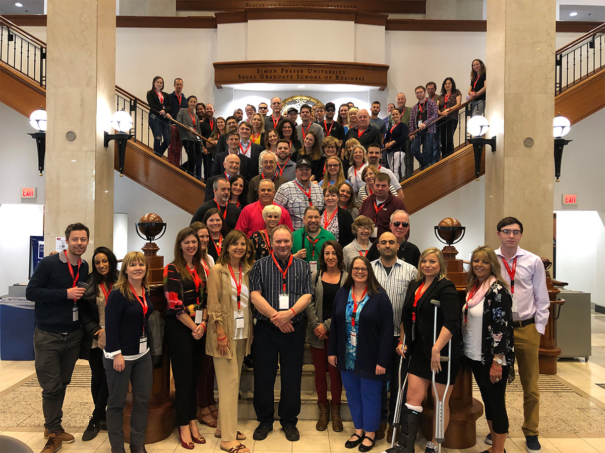 Vancouver conference group photo 2019